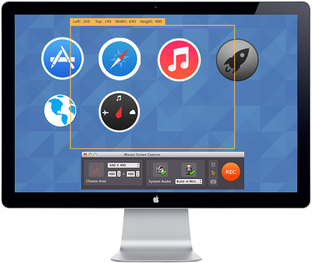 Use Movavi Screen Capture To Record Educational Lessons On Mac