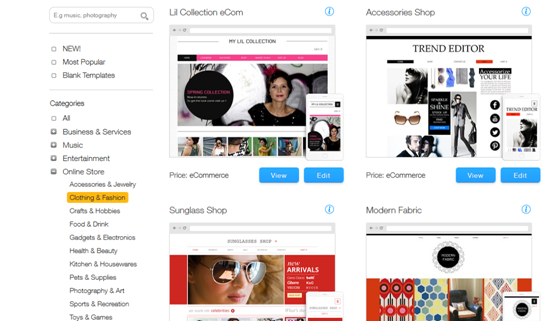 WixStores – The Perfect eCommerce Solution