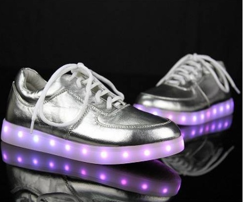 Glide in style with the Moonwalk LED shoes