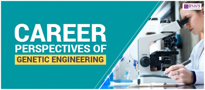 Career Perspectives Of Genetic Engineering