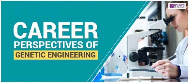 Career Perspectives Of Genetic Engineering
