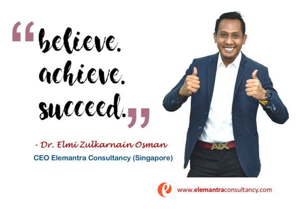 How To Become A Motivational Speaker In Singapore – An Article by Dr. Elmi Zulkarnain Osman